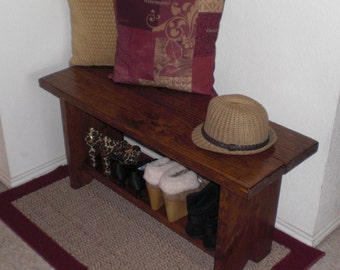 Early American Bench Etsy