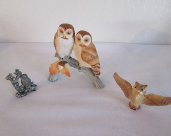 Vintage Collection of Owls - 3