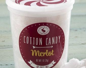 Merlot Cotton Candy