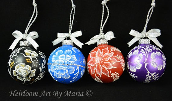 Wedding Gift Ornaments: Set Of 4 Ornaments Wedding FavorsWedding Bridesmaids Gifts