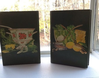 Wonderful Pair of Vintage Bookends for Cookbooks
