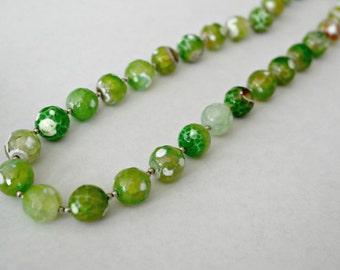 Wild green necklace