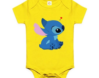 LoNyatanee Cute Stitch Onesie Baby Onesie Bodysuit Kids Clothing