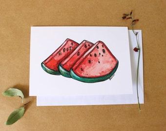 Watermellon Gift Card- Print
