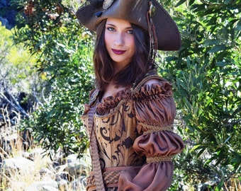 """Pirate outfit, Costume, Wench, """"Gertie"""""""