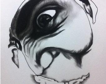 Portrait Glitch - Experimentation
