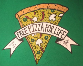 Free Pizza For Life Plan-It-X t-shirt
