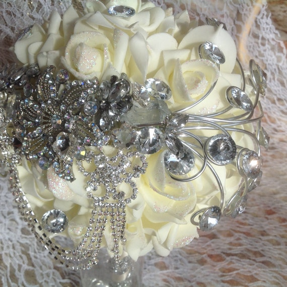 Wedding Brooch Bouquet Nz : Brooch keep sake wedding bouquet beautiful detailing hand