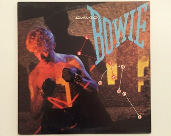 David Bowie - Let's Dance  vinyl record album LP - EMI America SO-17093