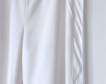 DKNY White Wide Leg Pants