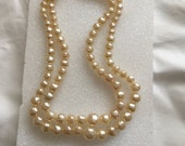 50s Jewelry: Earrings, Necklace, Brooch, Bracelet Vintage Vendome Pearl Necklace $65.00 AT vintagedancer.com