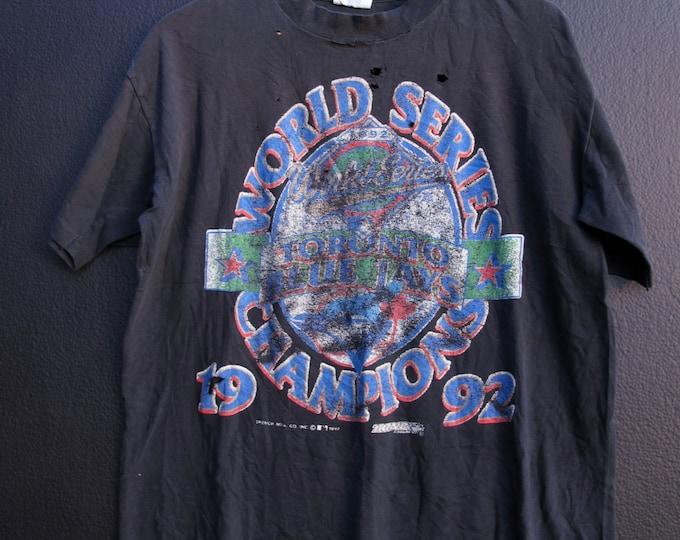 Toronto Blue Jays World Series MLB 1992 vintage Tshirt