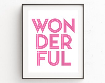 Pink Wall Art printable pink art nordic wall print scandinavian prints