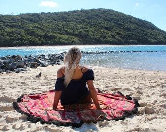 Mandala Beach Throw