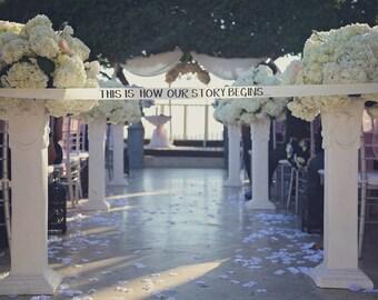 2 inch ribbon for wedding ceremony