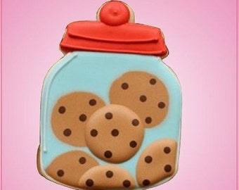 Detailed Cookie Jar Cookie Cutter