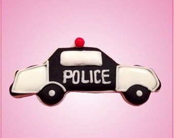 Police Car Cookie Cutter