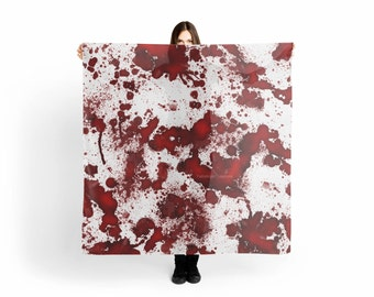 Blood Stains Scarf/Shawl