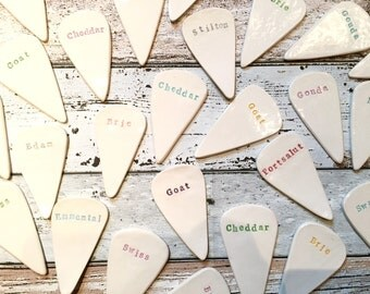 Cheese Markers, Set of 5