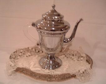 Vintage Silver Chrome Tea/CoffeeSet