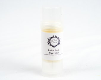 Solid Lotion Stick- heel repair, elbows