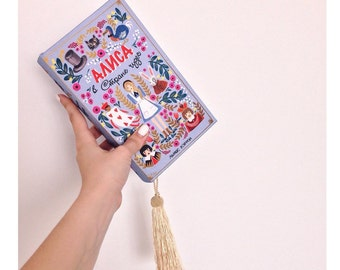 "Book Clutch, Wedding clutch  ""Alice in Wonderland"""