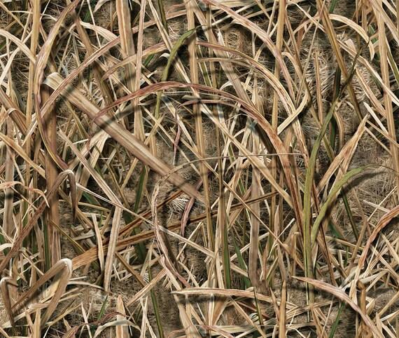 12 X 12 Inch Saw Grass Blades Camo Vinyl Sheet Permanent