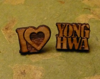 CNBlue I Love YongHwa KPOP Earrings