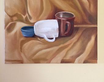 Still Life Oil Painting- Original