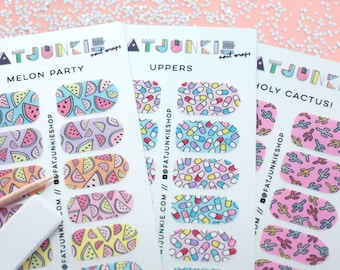 SALE - Nail Wraps - 3 Pack