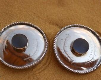 Bridle Conchos, Blue Sea Glass Bridle Conchos, Western Bridle, Blue Sea Glass, Horse Bridle, Horse Tack, Tack,  Bridle Conchos
