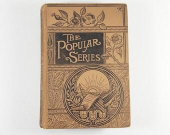 The Popular Series by Heinrich Oscar Von Karlstein. 1886 Antique Victorian Book. Gotham and the Gothamites. Satirical Victorian New York.