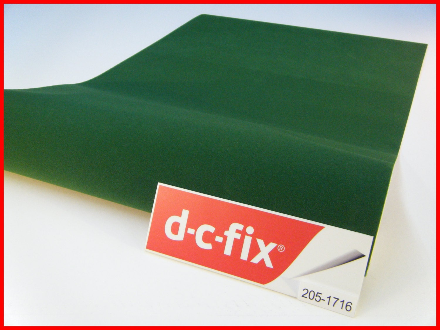 Dc fix velour green felt velvet 1m x 45cm sticky back plastic - Dc fix tischdecken ...