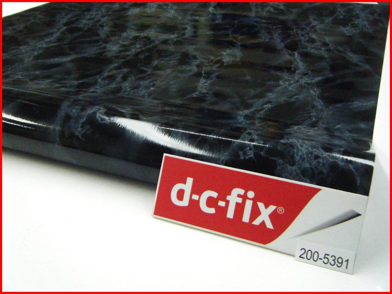 Contact Paper DC FIX 90CM X 2M Black Background Marble Self