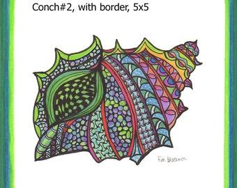 Conch #2 print