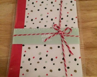 Target polka dot journal