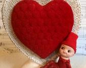 Free Shipping! Vintage Mid Century Napco Elf Pixie Valentines/Heart vase