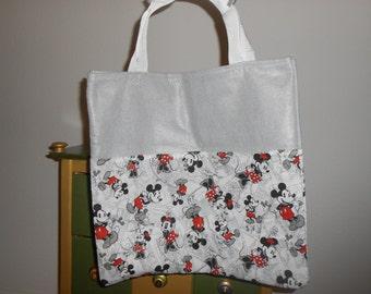 Classic Mickey & Minnie Washable Reusable Bag