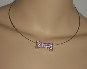 Choker - necklace - women's - fashion necklace - jewelry - bone - bone - jewelry - necklace - jewelry