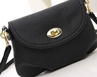 Black Small Bag - off the shoulder
