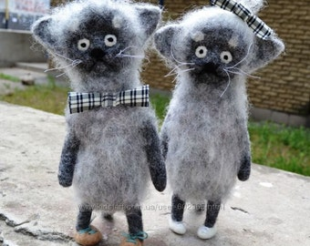 felted wool toys