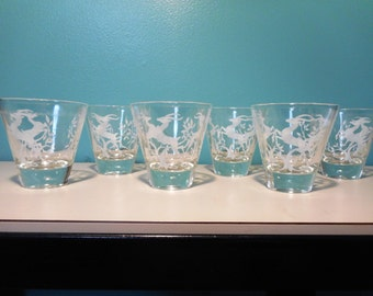 Gazelle Drinking Glasses