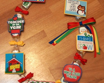 Candy Lei - Teacher Year End Appreciation Gift