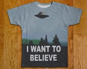 "Tshirt ""The X Files Clothing"" Two Sided Clothing"