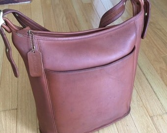 Rare Vintage Coach Legecy Shoulder Bag in British Tan