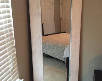 Custom Framed Full Length Mirror