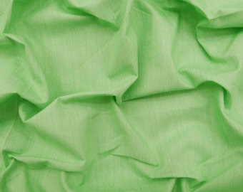 "59"" Wide Modern Cotton Fabric Dressmaking Material Fabric For Sewing Quilting Fabric Green Apparel Solid Fabric By The Yard ZBC7405C"