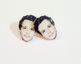 Matthew Gray Gubler Stud Earrings