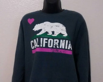 Cali sweater pink heart