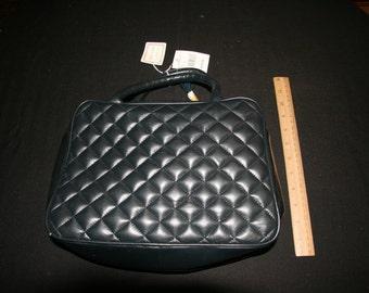Bloomingdale's navy  bag